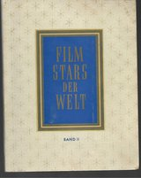 "RARE 1951 GREILING GERMAN TOBACCO CARD ALBUM ""FILM STARS OF THE WORLD"" in Ramstein, Germany"