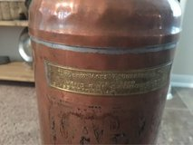antique fire extinguisher in Conroe, Texas
