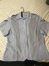 Women's Air Force Blues Button up Shirt in Okinawa, Japan