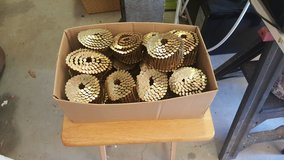 Coiled roofing nails in Cannon AFB, New Mexico