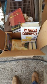 Box of Books in Cannon AFB, New Mexico