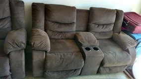 Reduced - Reclining couch and loveseat in Fort Carson, Colorado