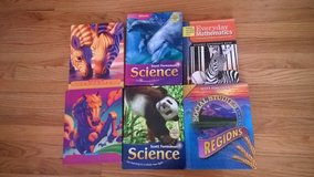204 school district 3rd grade and 4th grade school books in Westmont, Illinois