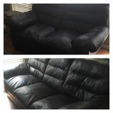 sofa & loveseat leather mix in Algonquin, Illinois