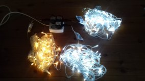 220V LED Christmas white lights 100ct (3 sets) in Wiesbaden, GE