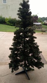 7FT PRE-LIT ARTIFICIAL CHRISTMAS TREE ALBERTA SPRUCE CLEAR LIGHTS in Fort Campbell, Kentucky