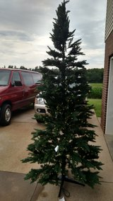 Holiday Time Pre-Lit 9' Williams Pine Artificial Christmas Tree, Clear Lights in Fort Campbell, Kentucky