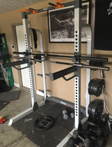 Squat rack in Fort Benning, Georgia