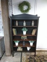 Industrial/rustic antique oak bookcase in Elgin, Illinois