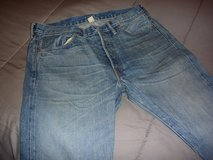 Ralph Lauren RRL Japanese selvedge jeans, made in USA, new; waist 34, inseam 30; in Okinawa, Japan