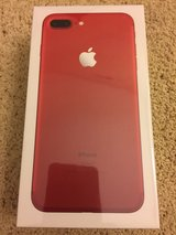 Sealed Never used BRAND NEW in BOX RED iPhone 7 PLUS 128MB with receipt and warranty in Fort Irwin, California