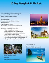 Southeast Asia Tours in Okinawa, Japan