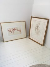 2 nice pictures in frames - tastefull home decoration in Ramstein, Germany