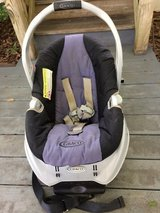 Graco infant car seat detaches from base in Warner Robins, Georgia