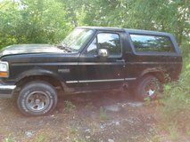 Ford bronco XLT parts in Morris, Illinois