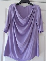 Top size 14 by Per Una purple 3/4 sleeves in Cambridge, UK