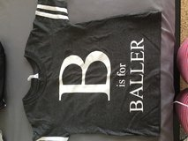 B is for baller tee in Travis AFB, California