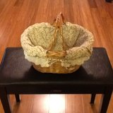 Small basket with liner in Beaufort, South Carolina