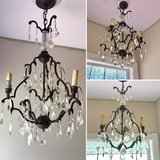 Dark Bronze Crystal Chandalier in Leesville, Louisiana