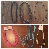 Eight necklaces & one pair of earrings in Byron, Georgia