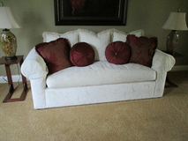 White down filled couch in Joliet, Illinois
