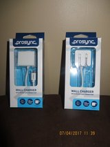 Prosync Wall Charger with Micro USB Connector - New in Box ( I have 2) in Lockport, Illinois