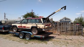 1993 Car Trailer/ 1978 Jeep Tow Vehicle in Alamogordo, New Mexico