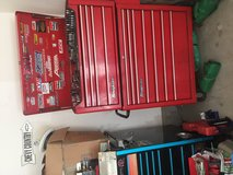 Snap on tool box with tools in San Diego, California