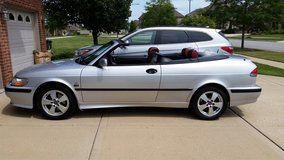 Gorgeous 2003 Saab convertible low miles!!! in Bolingbrook, Illinois