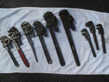 Pipe Wrenches - Vintage in Joliet, Illinois