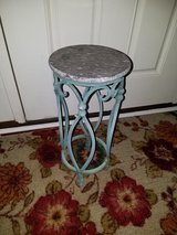Round / Iron Marble Plant Deco Stand in Fort Campbell, Kentucky
