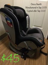 Chicco Nextfit carseat in Fort Irwin, California