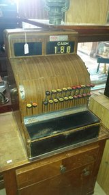 Vintage National Cash Register in Fort Leonard Wood, Missouri