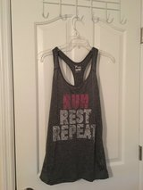 NWT Old Navy Go-Dry Semi-Fitted Graphic Racer Tank Top in Camp Lejeune, North Carolina