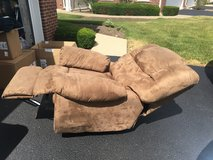 Reclining Sofa & (2) Chairs in Morris, Illinois
