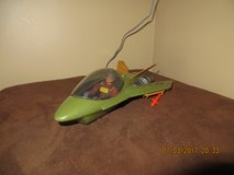 2004 Lanard Plastic AF-12 Military Toy Jet with G. I. Joe Action Figure Pilot & 2 Missiles in Lockport, Illinois