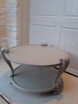 Petite Gray Table in CyFair, Texas