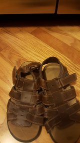 Boys size 3 & 1/2 sandals ONLY WORN A COUPLE TIMES in Joliet, Illinois