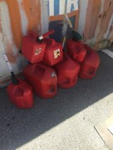 Gas Cans in Okinawa, Japan
