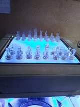 lighted chess table in Alamogordo, New Mexico
