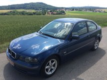 BMW 316 ti compact AC Mod. 2003 NEW Inspection , free delivery in Hohenfels, Germany