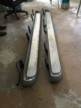 $240 Ford Super Duty Running Board Steps with light Crew Cab 1999 to 2016 in Pasadena, Texas