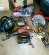 ASSORTED POWER TOOLS in Warner Robins, Georgia