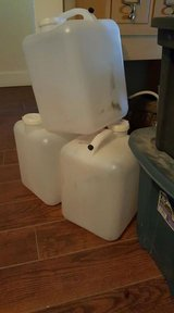 (5) 5 gallon water jugs in Kingwood, Texas