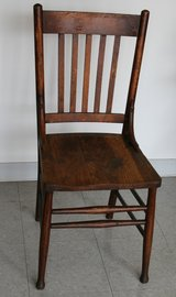 Antique Wooden Chair in New Lenox, Illinois