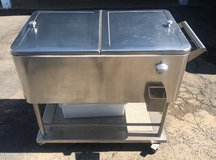 Stainless steel rolling cooler in Temecula, California