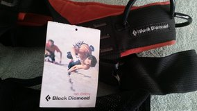 Black Diamond rock climbing harness in Camp Lejeune, North Carolina