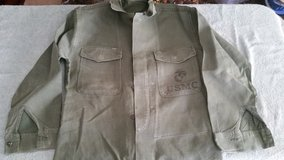 US Korean War Or Vietnam USMC Marine Corps Named Field Combat Jacket size: Small in Camp Lejeune, North Carolina
