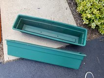 Plastic plant boxes in Naperville, Illinois