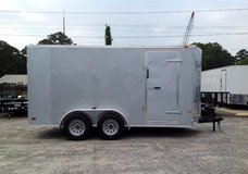 2016 7 x 14 Continental Cargo Enclosed Trailer in Fort Rucker, Alabama